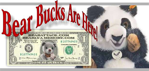 Bear Bucks for everyone!