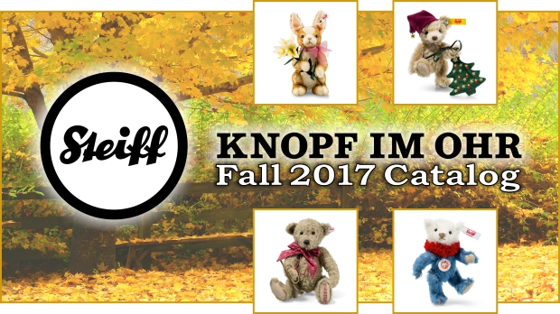 Steiff Fall 2017 Catalog